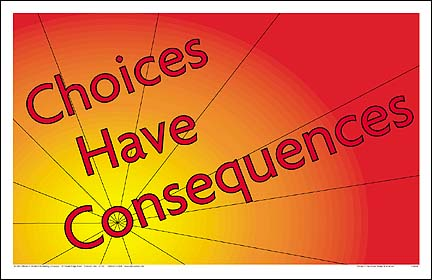 choiceshaveconsequences QUOTES on Choices