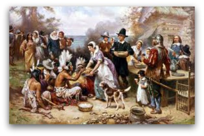 pelgrimsthanksgiving The History of Thanksgiving