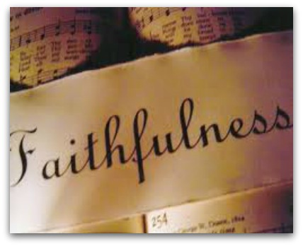 What About Faithfulness? | The Choice Driven Life
